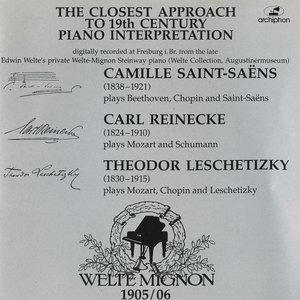 Image for '19th Century Pianists on Welte Mignon'