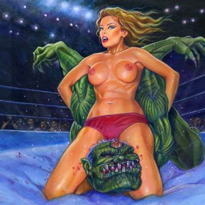 Image for 'Naked Lady Wrestlers'