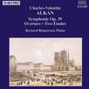Bild für 'ALKAN: Symphonie / Ouverture / Etudes, Op. 39'