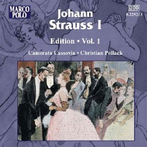 Image for 'STRAUSS I, J.: Edition - Vol.  1'