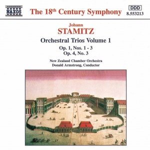 Image for 'STAMITZ, J.: Orchestral Trios Nos. 1 - 3, Op. 1 and No. 3, Op. 4'