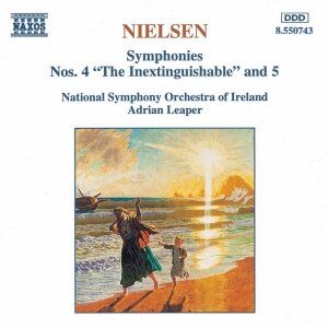 Image for 'NIELSEN, C.: Symphonies Nos. 4 and 5'