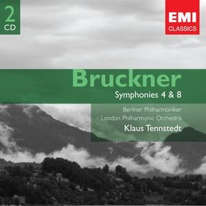 Image for 'Bruckner: Symphonies 4 & 8'