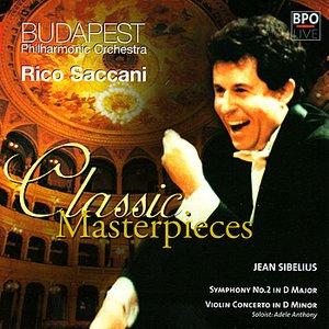 Image for 'Sibelius - Symphony No 2 & Violin Concerto'