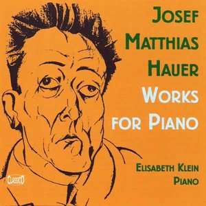 Image for 'Hauer: Works for Piano'