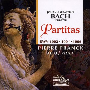 Image for 'Bach : Partitas pour alto'