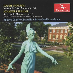 Image for 'Farrenc: Nonet in E flat major, Op. 38 - Brahms: Serenade No. 1'