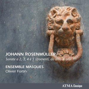 Image for 'Rosenmüller: Sonate a 2, 3, 4 e 5 stromenti da arco & altri'