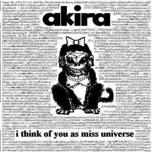 Bild für 'I Think Of You As Miss Universe'