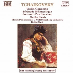 Image for 'TCHAIKOVSKY: Violin Concerto in D Major / Serenade Melancolique / Souvenir d'un lieu cher'