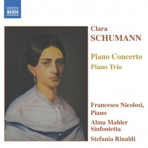 Image for 'SCHUMANN, C.: Piano Concerto in A Minor / Piano Trio in G Minor'
