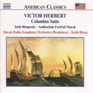 Image for 'HERBERT, V.: Columbus Suite / Irish Rhapsody'