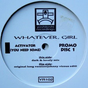 Image for 'Whatever Girl'