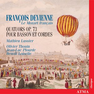 Image for 'Devienne: 3 String Quartets, Op. 73'