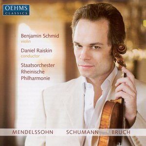 Image for 'Mendelssohn, F.: Violin Concerto, Op. 64 / Schumann, R.: Phantasie / Bruch, M.: Violin Concerto No. 1'