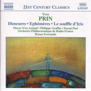 Image for 'PRIN: Dioscures / Ephemeres / Le Souffle d'Iris'