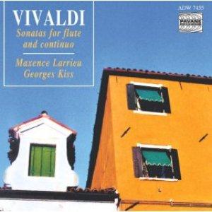 Immagine per 'Vivaldi: Sonatas for Flute and Continuo'