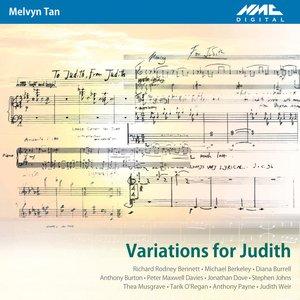 Bild für 'Variations for Judith'