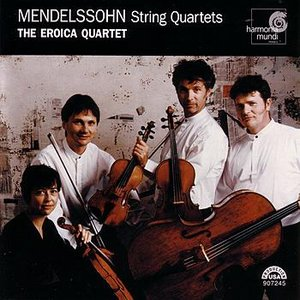 Image for 'Mendelssohn: String Quartets Vol. 1'