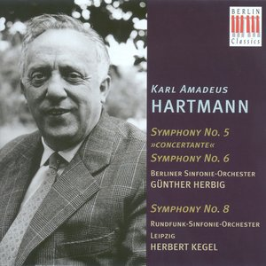 Image for 'Hartmann, K.A.: Symphonies Nos. 5, 6 and 8'