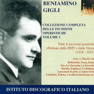 """""""Opera Arias (Tenor): Gigli, Beniamino - Boito, A. / Puccini, G. / Ponchielli, A. / Mascagni, P. (Collection of Opera Highlights, Vol. 1) (1918-1923)""""的封面"""