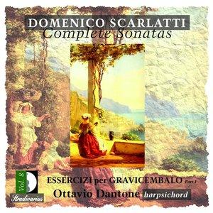 Bild für 'Scarlatti: Complete Sonatas, Vol. 8'