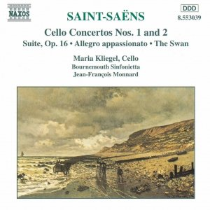Bild för 'SAINT-SAENS: Cello Concertos Nos. 1 and 2 / Suite, Op. 16'