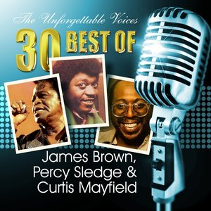 Image for 'The Unforgettable Voices: 30 Best of James Brown, Percy Sledge & Curtis Mayfield'