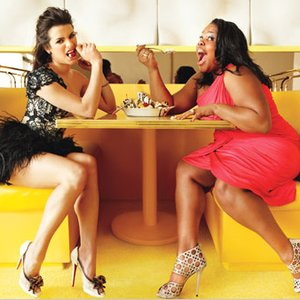 Image for 'Lea Michele & Amber Riley'