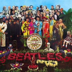 """Sgt. Pepper's Lonely Hearts Club Band""的封面"