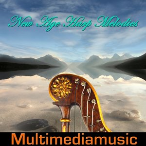 Image for 'New Age Harp Melodies (feat. Vibraphile)'