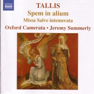 Image for 'TALLIS: Spem in alium / Missa Salve intemerata'