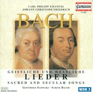 Image pour 'Bach, C.P.E.: Geistliche Gesange / Gellerts Geistliche Oden Und Lieder / Bach, J.C.F.: Musikalisches Vierlerley / Munters Geistlich Lieder'