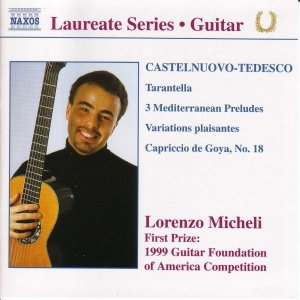 Image for 'Guitar Recital: Lorenzo Micheli'