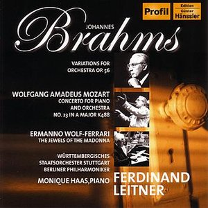 Image for 'Brahms / Mozart / Wolf-Ferrari'