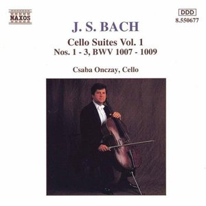 Bild för 'Cello Suites Vol. 1(J.S.Bach)'
