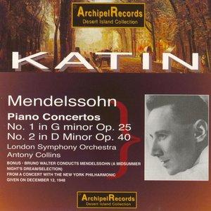 Image for 'Mendelssohn : Piano Concertos Nos 1 & 2 (Dec.1948)'