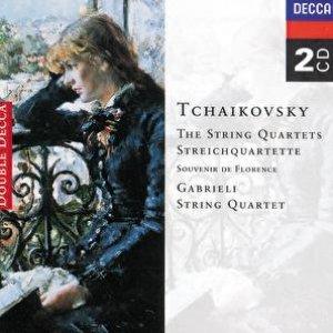 Image for 'Tchaikovsky: The String Quartets/Souvenir de Florence'