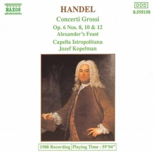 Image for 'HANDEL: Concerti Grossi Op. 6, Nos. 8, 10 and 12'