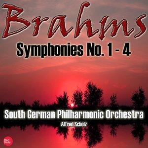 Image for 'Brahms: Symphonies No. 1 - 4'