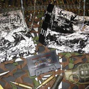 Bild för 'Unholy Extermination Squad (4 way split: MERCILESS WARFARE, AMPÜTATOR, WARBUTCHER & DEMONOMANCY)'