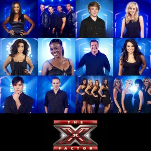 Image for 'X Factor Finalists 2008'