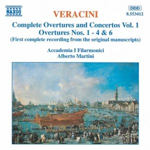 Image for 'VERACINI: Overtures and Concertos,  Vol.  1'