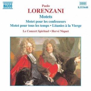 Image for 'LORENZANI: Motets'