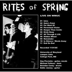 Image for 'Live on WMUC 11/01/85'