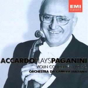 Image for 'Accardo Plays Paganini - Vol. 1'
