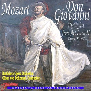 Image for 'Mozart: Don Giovanni, Highlights From Act I & II'