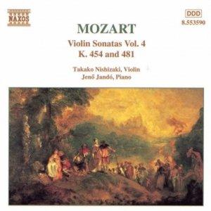 Image for 'MOZART: Violin Sonatas, K. 454 and K. 481'
