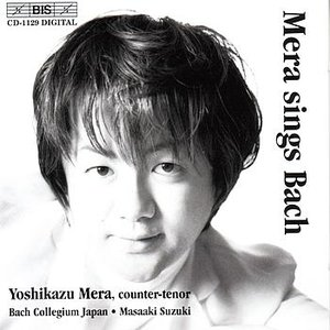 Image for 'MERA SINGS BACH'