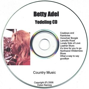 Image for ''Betty Adel 'Yodeling CD+plus'